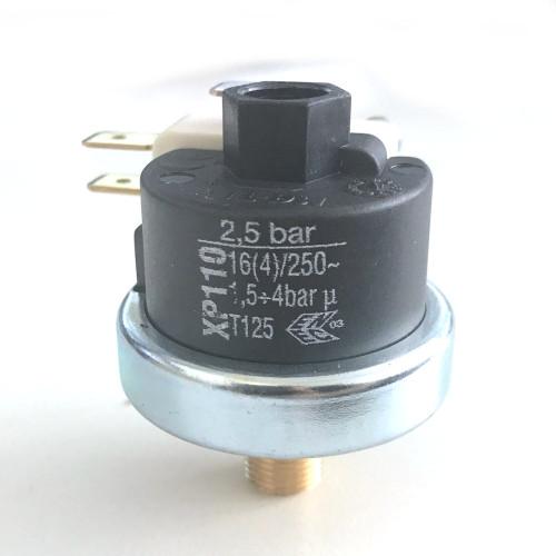 "Mater Pressure Switch XP110 0.5-2.5 BAR 1/8"" BSP Thread"