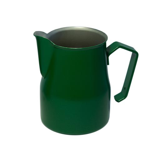 Motta Europa 350ml Milk Steaming Jug / Pitcher Green