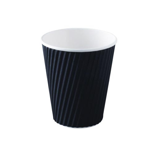 Takeaway Coffee Cup - Paper Ripple 12oz 360ml - 25x