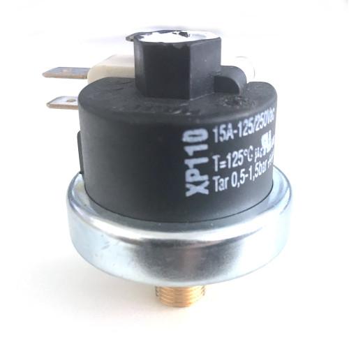 "Mater Pressure Switch XP110 0.5-1.5 BAR 1/8"" BSP Thread"
