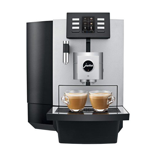 JURA X8 Platinum Office Automatic Espresso Coffee Machine - Tank