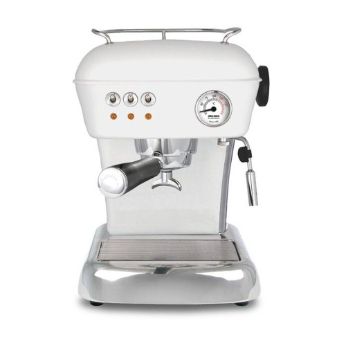 ASCASO Dream Espresso Coffee Machine Matte Cloud White