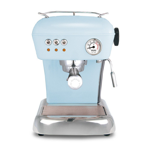 ASCASO Dream Espresso Coffee Machine Gloss Kid Blue