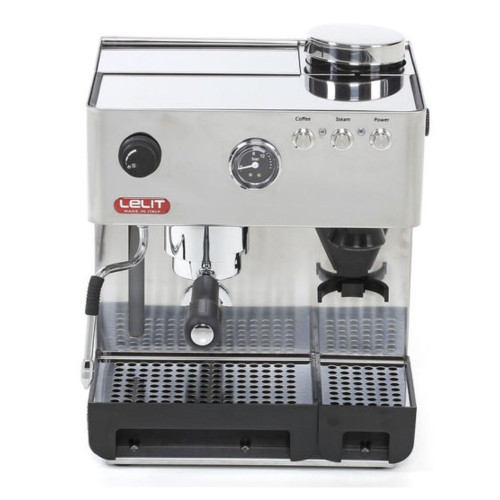 Lelit PL42EMI Espresso Machine with built-in Burr Grinder