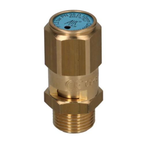 Boiler Pressure Release Valve 2.0bar 3/8 BSPM CE Hex Body