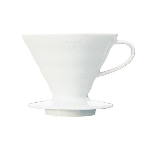Hario V60 Coffee Dripper 02 Ceramic White 1-4 Cup