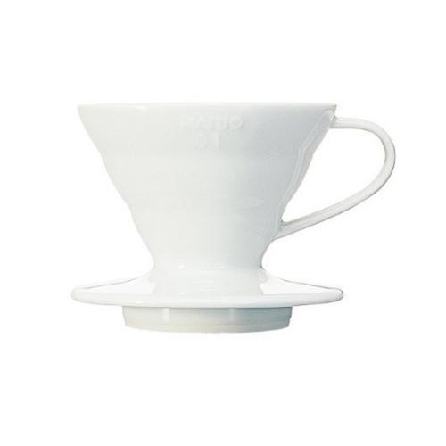 Hario V60 Coffee Dripper 01 Ceramic White 1-2 Cup