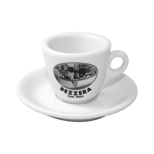 "Bezzera Espresso Cups - ""Bezzera Since 1901"" Set of 6x"