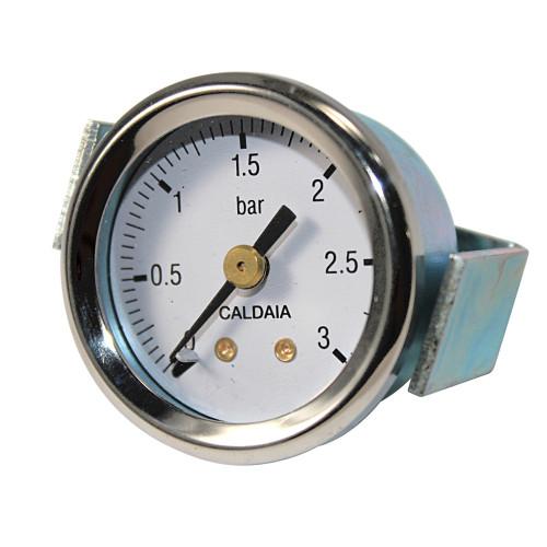 Bezzera Boiler Pressure Gauge OD44mm Hole 40mm 0-3 Bar