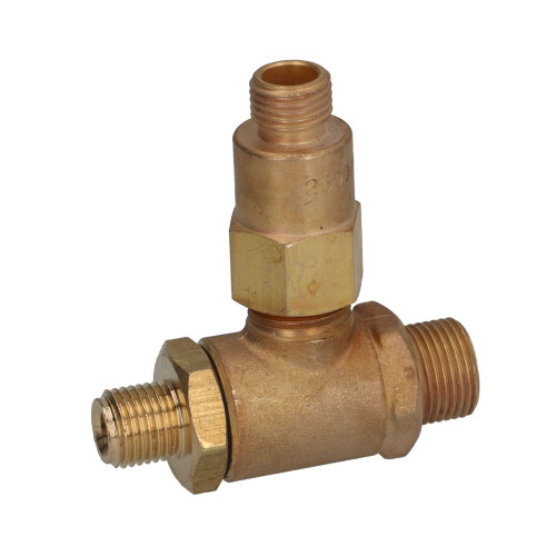 Expansion and Non-Return Valve 3-Way 1/4 BSPM 1/4 BSPM 3/8 BSPM