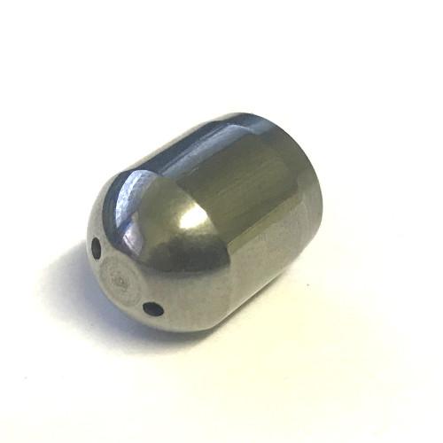 Steam arm tip 10mm female thread 2 hole BEZZERA