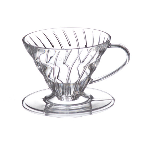 Hario V60 Coffee Dripper 01 Clear Plastic 1-2 Cup