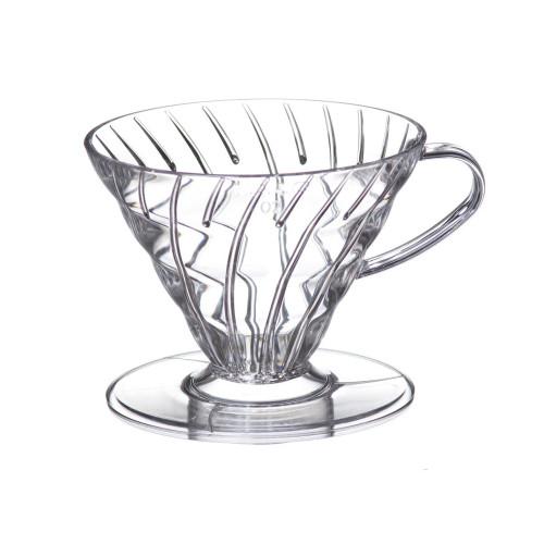Hario V60 Coffee Dripper 02 Clear Plastic 1-4 Cup
