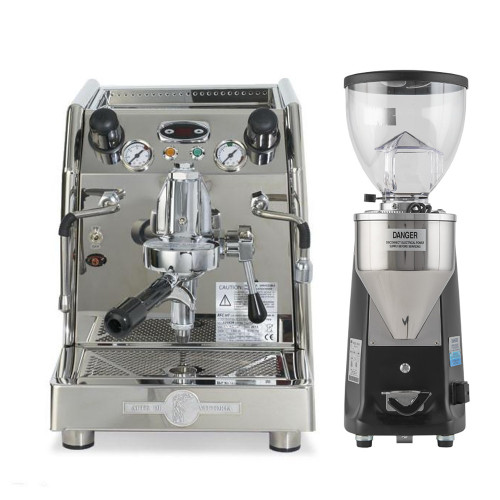 BFC Junior Extra Double Boiler TCI Rotary and Mini Mazzer Electronic Combo
