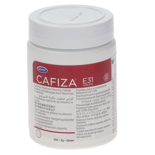 URNEX CAFIZA E31 2g Coffee Machine Cleaning Tablets 100x