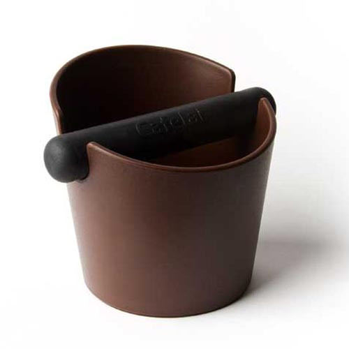 Cafelat Tubbi Coffee Knock Box Brown
