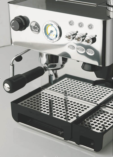 la pavoni domus bar espresso machine with built in burr grinder. Black Bedroom Furniture Sets. Home Design Ideas