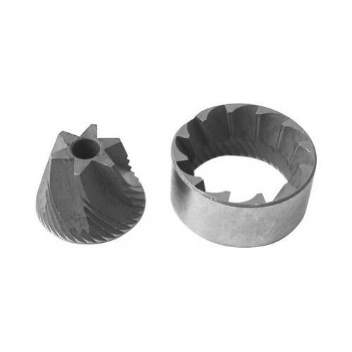 Grinder Burrs Conical OUT38x26x17 IN30x7x20.3 RH (pair) ROSSI BRASILIA ISOMAC PAVONI