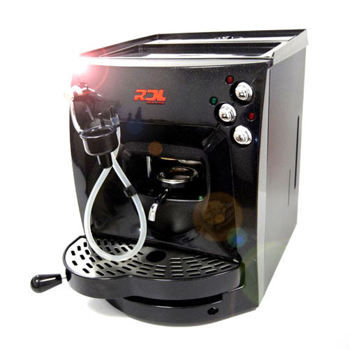 RDL Cream Volumetric Espresso Coffee Pod Machine