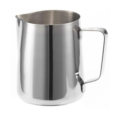 Milk Steaming Jug Pitcher 350ml Stainless Steel With