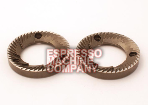 Grinding Burrs 64x38x9mm LH (Pair) Rancilio MD50