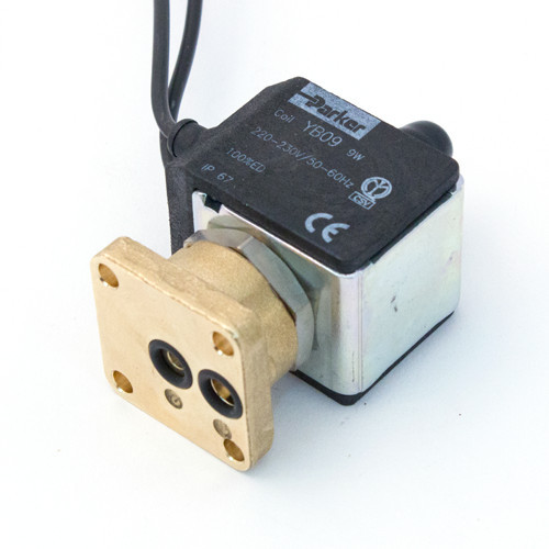 Parker 3-way Solenoid Flat Base with Cable 230V
