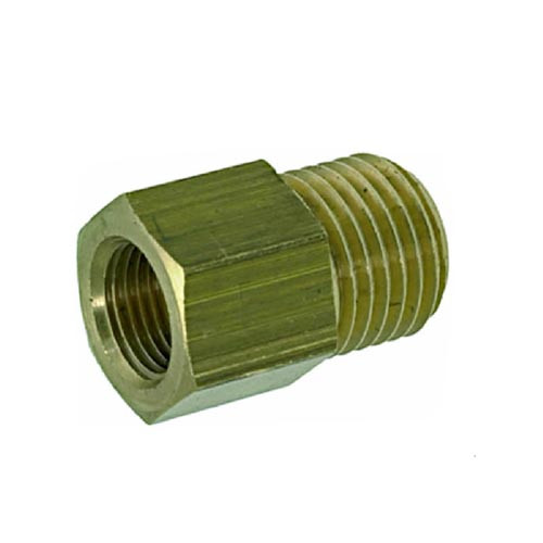 Fitting 3/8M - 1/4F Brass/Nickel