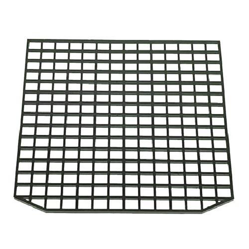 Black Plastic Grill FAEMA 215x225x4 mm