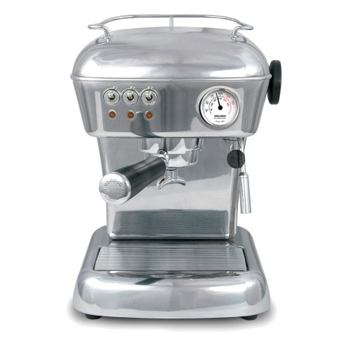 ASCASO Dream Espresso Coffee Machine Polished Aluminium