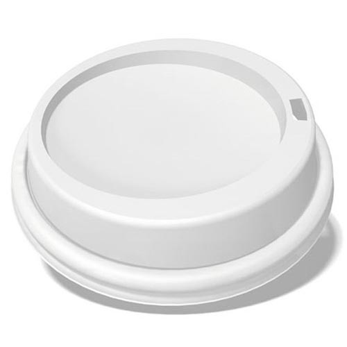 Lid for Takeaway Coffee Cup White - 8oz-uni / 12oz / 16oz / 20oz - 100x