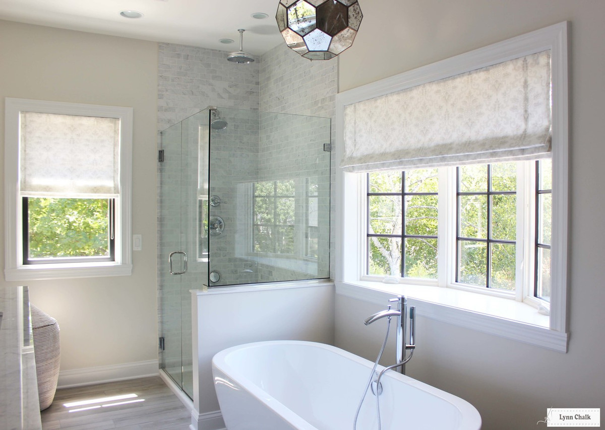 Well-liked Bathroom Roman Shades in Cecilia in French Grey FI44
