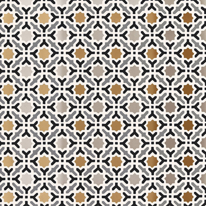 Schumacher Serallo Mosaic Wallpaper Mica 5005971