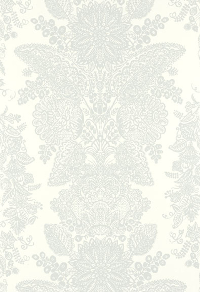 Schumacher Lace Wallpaper Cirrus 5003322