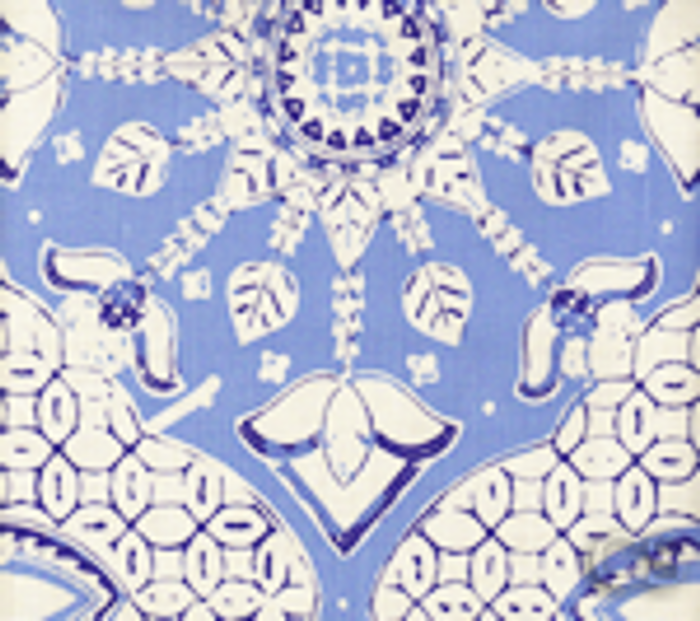 Quadrille New Batik French Blue Navy on Tint - 5 Yard Minimum Order