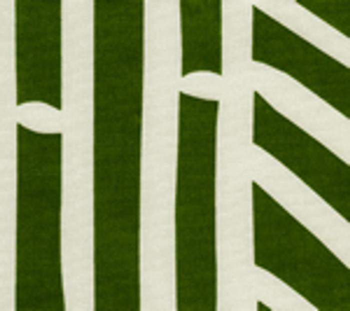 Quadrille Alan Campbell Candu Indoor/Outdoor Fabric Green