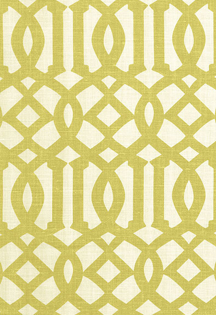 2643762 Schumacher Kelly Wearstler Fabric Imperial Trellis Citrine