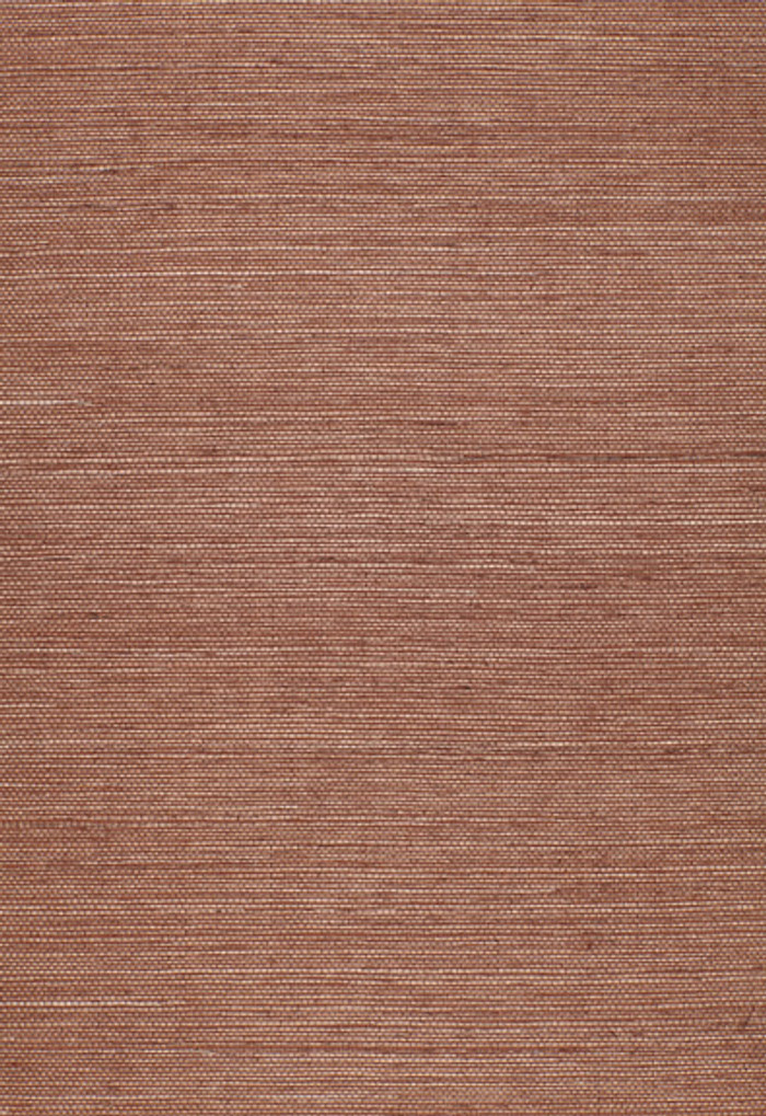 Schumacher Onna Sisal Wallpaper Brown 5002194