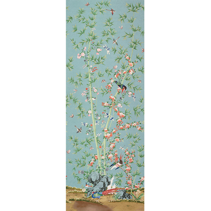 """Miles Redd for Schumacher Brighton Pavilion in Multi (Priced and Sold by the 144"""" Full Length Panel)"""
