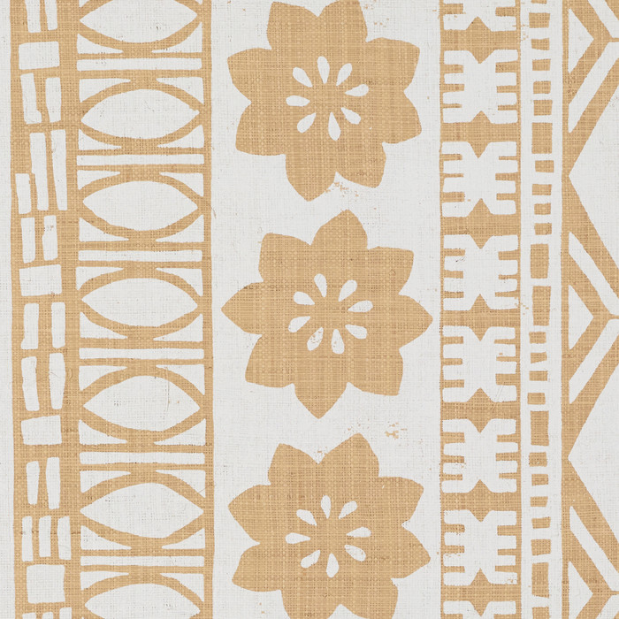 Schumacher Mary McDonald Mrs. Howell Natural Grasscloth Wallcovering 5007330 (PRICE IS PER YARD.  MINUMUM ORDER IS 30 YARDS. )