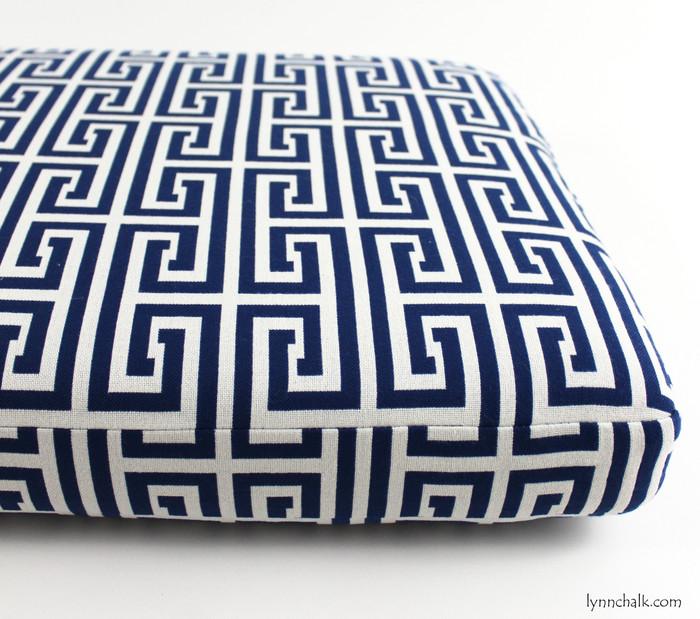 Cushion in Kravet Sailclub Ultramarine