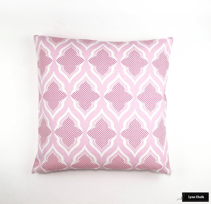 Pillow in Venecia Hot Pink (24 X 24)
