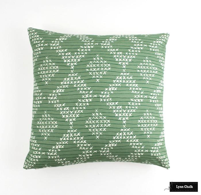 Sister Parish Pocantico in Fern 20 X 20 Pillow