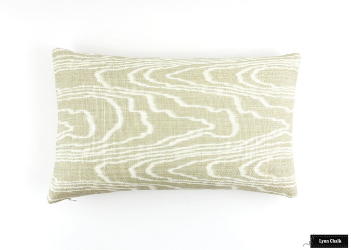 ON SALE Kelly Wearstler Agate Pillows in Pearl/Beige (12 X 20 Both Sides-This color is being discontinued)