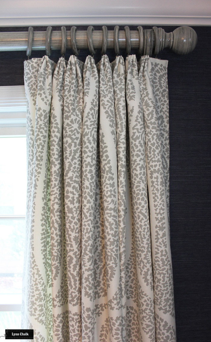 Schumacher Ambala Paisley Drapes (comes in 4 colors)