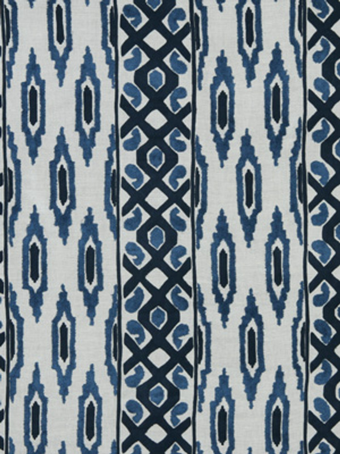 Beacon Hill Sedona Ikat Indigo