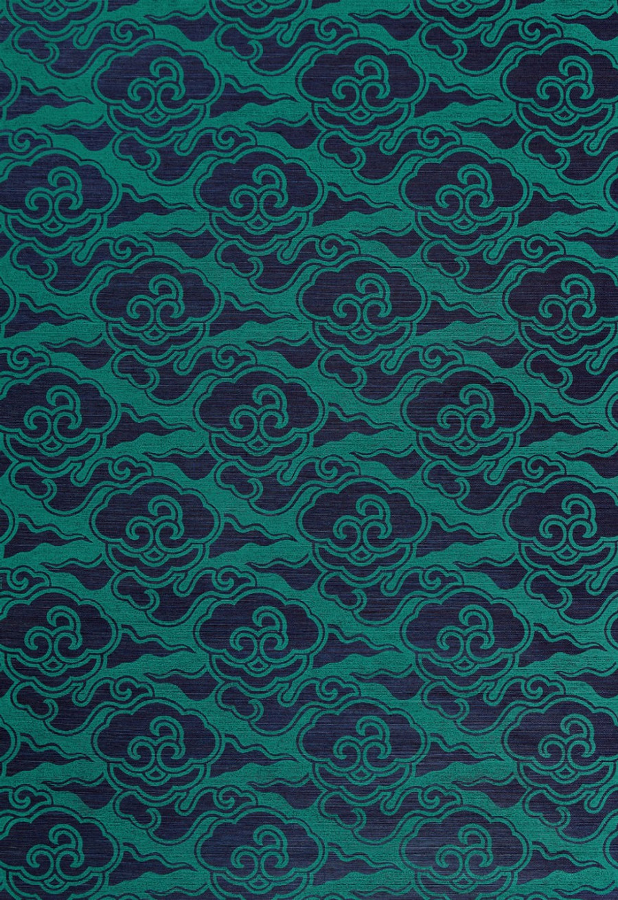 Celerie Kemble for Schumacher Cirrus Clouds Plume Wallpaper (Priced and Sold by the Yard. 16 Yard Minimum Order)