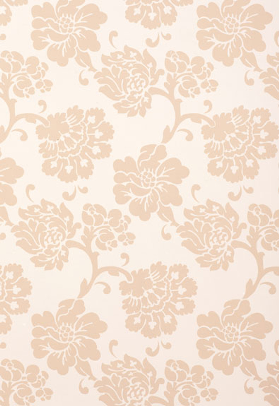 Schumacher Wallcovering Albero Floreale in Petal