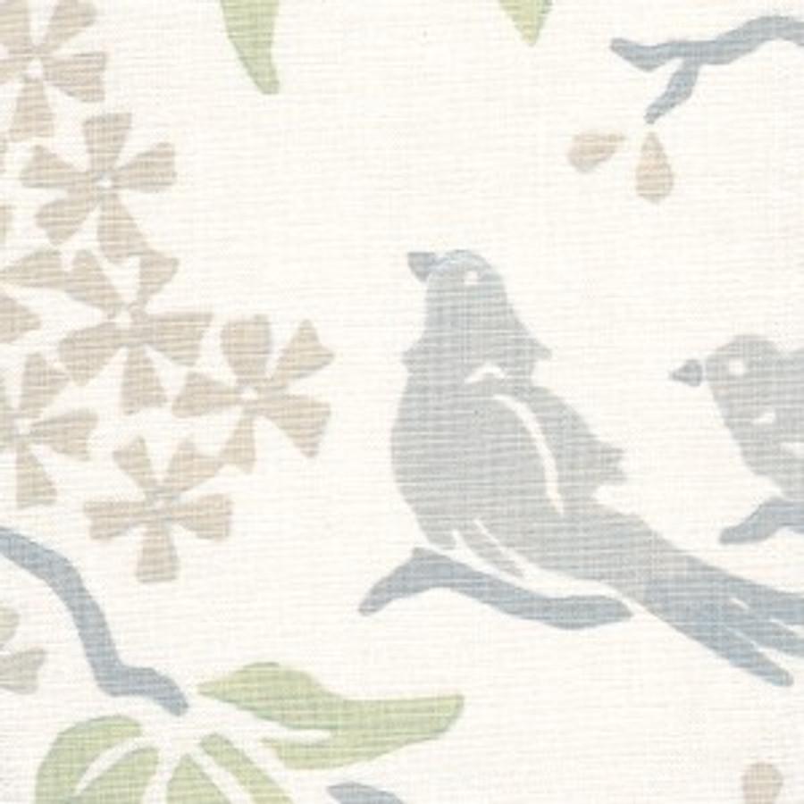 Birds in Shadow on White Linen