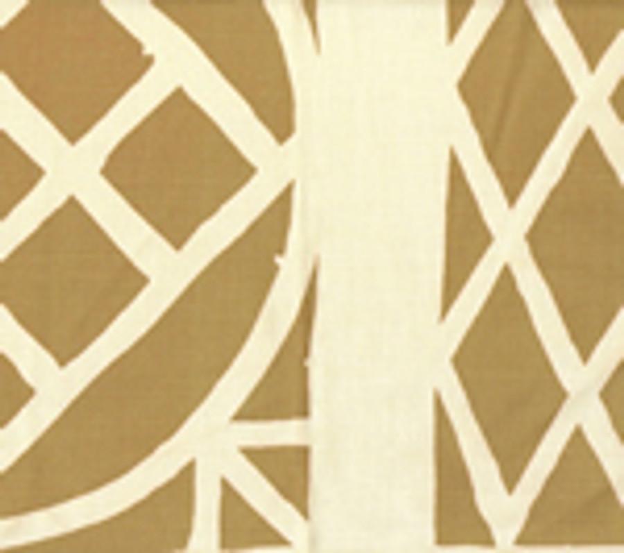 Trellis Background Wallpaper Camel On Tint