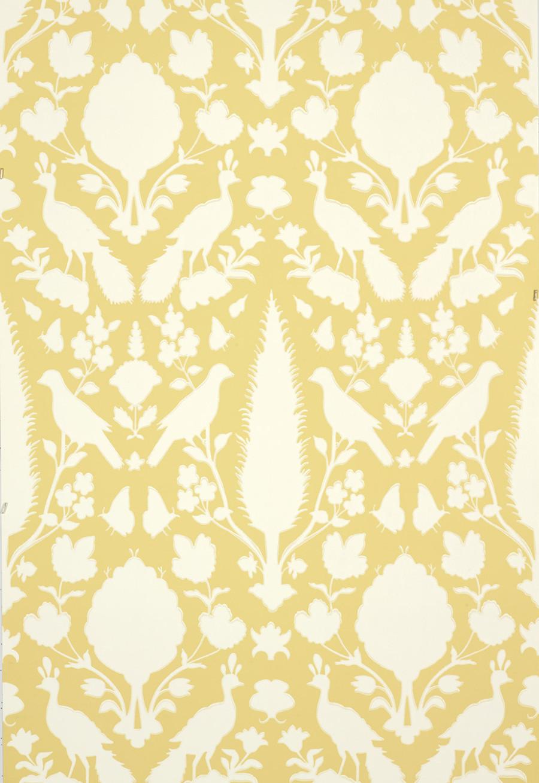 Schumacher Chenonceau Wallpaper Buttercup  5004126